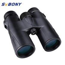 SVBONY caza prismáticos 8X42/10X42 X/8X32 BAK4 prisma SV47 HD Zoom telescopio visión Nocturna Binocular impermeable de alta potencia para acampar, caminar, cazar, disparar, turismo, ver el juego deportivo y conciertos.