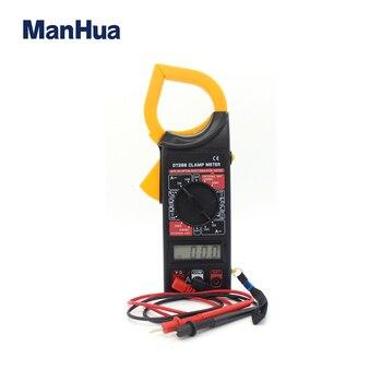 Manhua-probador de voltaje de corriente continua, DT266 AC/DC, LCD, Digital, tableta, multímetro,...
