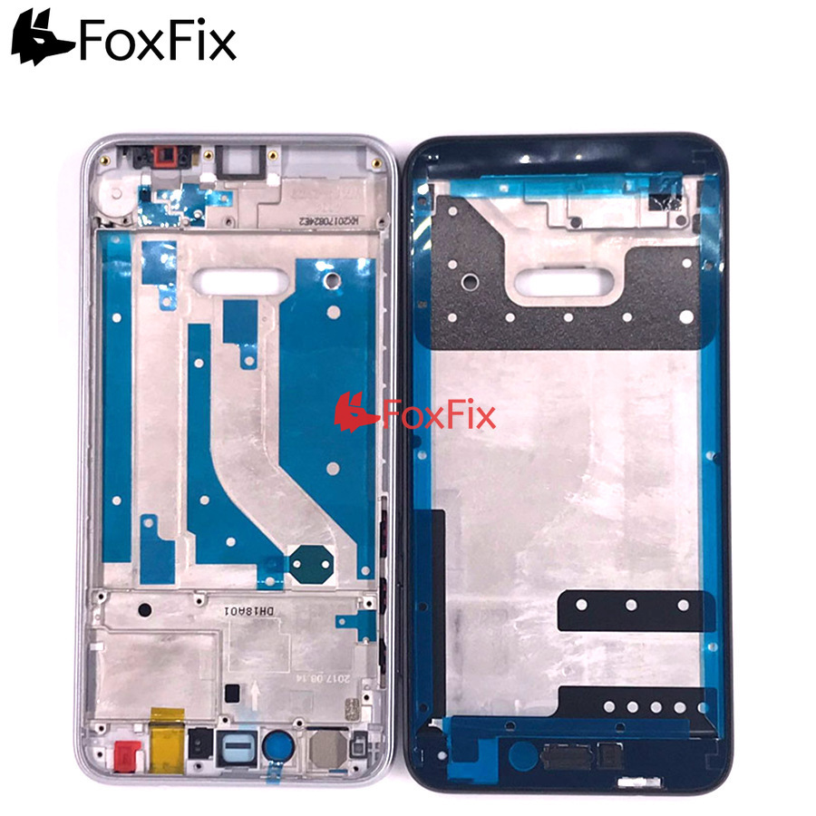 For <font><b>Huawei</b></font> Honor 8 Lite Front Frame <font><b>Screen</b></font> Supporting Bezel Chassis P8 Lite <font><b>2017</b></font> Front Frame P9 Lite <font><b>2017</b></font> Middle Housing Plate image