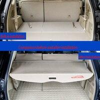 2015-2019 Toyota Highlander 트렁크 커버 커튼은 Toyota hananda special 용 커튼 테일 박스 배플을받을 수 있습니다.