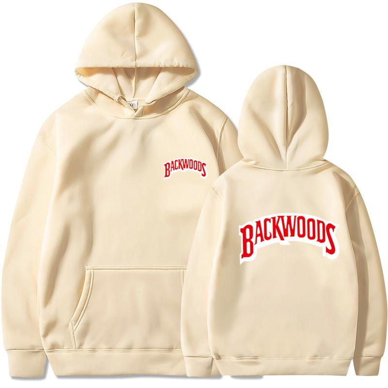 2020 The Screw Thread Cuff Hoodies Streetwear Backwoods Hoodie Sweatshirt Men Fashion Autumn Winter Hip Hop Hoodie Pullover