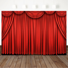 Red Curtain Photography Background Bridal Shower Wedding Photography Backdrops Birthday Photo Props Studio Booth Background 60x84 inches flowers theme photography backdrops party background for wedding baby birthday decoration photo wall studio props