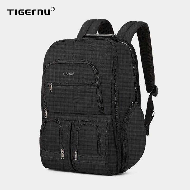 Tigernu RFID Anti-vol sac à dos grande capacité pour voyage sacs pour ordinateur portable étanche résistant hommes sac à dos Mochila mâle sac à dos