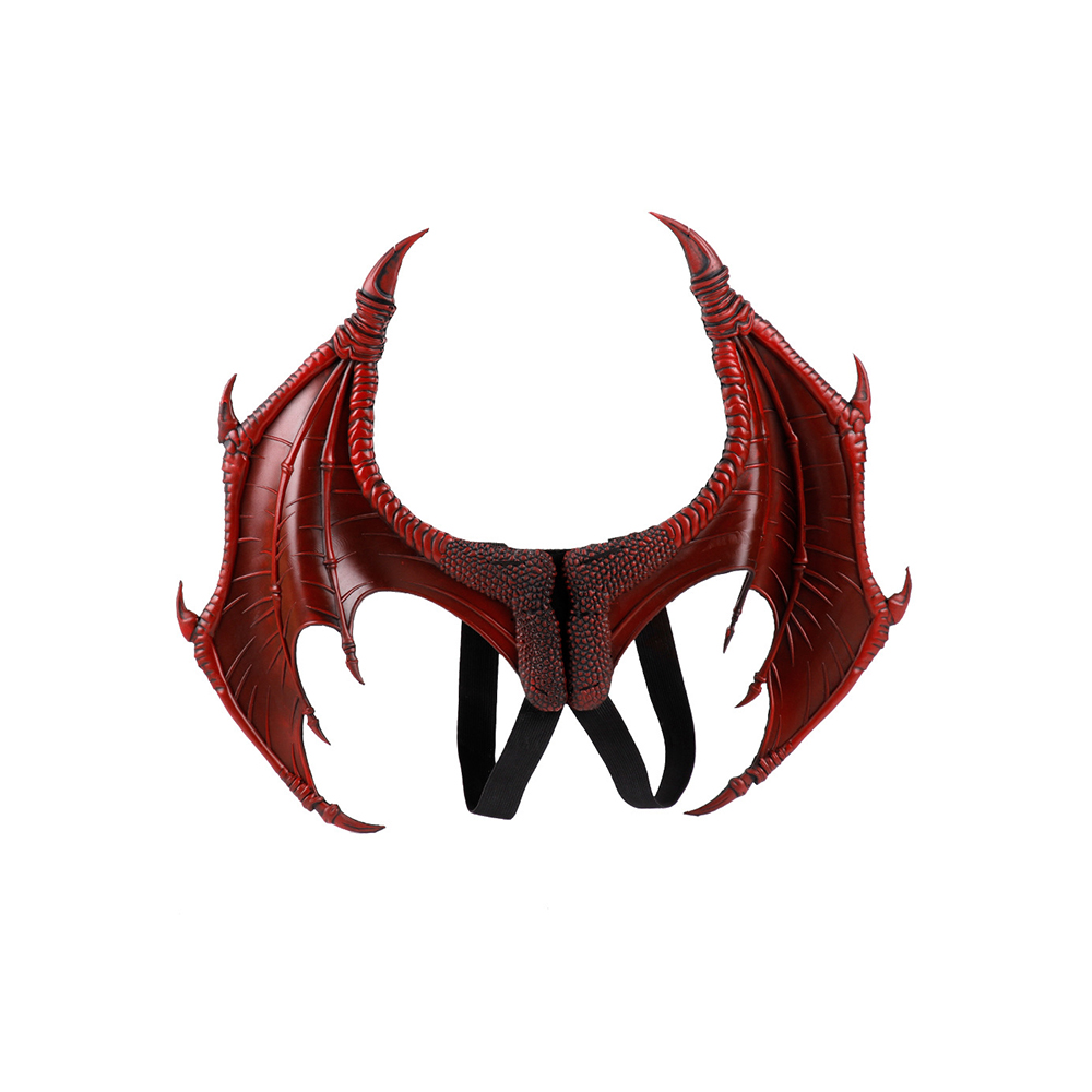 Fit-Skin Kneading Dragon Cosplay Halloween Demon Soft Wings Stereo-Effect 3D Very-Comfortable-To-Wear