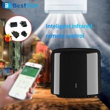 جهاز تحكم عن بعد لاسلكي بالواي فاي صغير من Broadlink طراز Bestcon RM4 RM4C يعمل مع خدمة أليكسا أمازون من جوجل