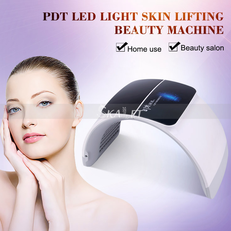 Portable 7 Color LED Lights Mode Anti-Wrinkle Skin-Rejuvenation-Machine For Home Use/Salon