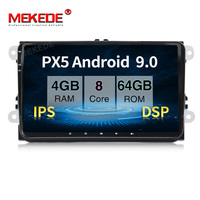 PX5 4GB+64GB Android 9.0 Car gps dvd player for VW Skoda Octavia golf 5 6 touran passat B6 jetta polo tiguan 8 cores radio navi