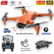 2021 L900 Pro Drone 5G GPS 4K With HD Camera FPV Flight 28min Brushless Motor Quadcopter Distance 1.2km Professional Drones