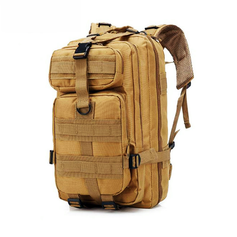 Outdoor Military Tactical Backpack Fjallraven Kanken Tactical Bag 600D Oxford Military Backpacks Large Camping Hiking Backpack image