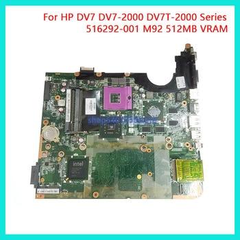 DUORUN For HP Pavilion DV7 DV7-2000 Series DV7T-2000 Laptop Motherboard Mainboard 516292-001 M92 512MB NoteBook PC 100% full