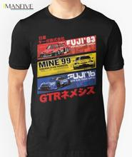 Hot Sell 2019 Fashion Japan Car Nis GTR History SKYLINE GT-R R34 HISTORY T-shirt Tees