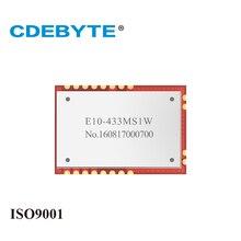 Rf-Module SI4463 CDEBYTE Wireless-Transceiver SPI Uhf 1W 30dbm Iot E10-433MS1W Stamp