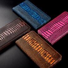 Magneet Natuurlijke Lederen Skin Flip Wallet Boek Telefoon Case Cover Op Voor Samsung Galaxy A20 A30 A50 S 2019 een 30 50 32/64 Gb