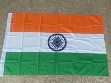 3x5 índia bandeira país indiano bandeiras nova bandeira poliéster bandeira flying150 * 90cm ao ar livre nn100