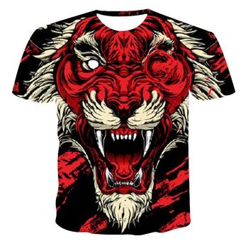 4~14 Year Boys T Shirt For Kids Shirts 2020 Summer Selling New T-Shirt Children 3D Phoenix Print Fashion Short-Sleeved Clothes