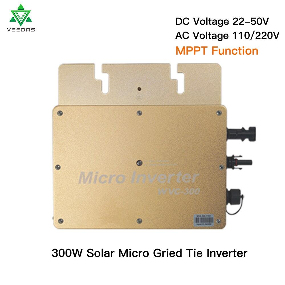 a micro grade de wvc300 amarrou a entrada pura dc22v 50v do inversor da onda de