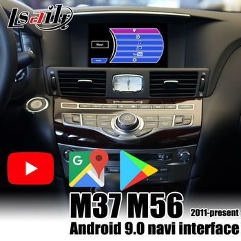 Lsailt carplay / Android multimedia interface for Infiniti M37 M56 2011-2017 G G37 Q70 QX80... support waze , google , youtube image