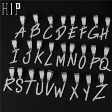 Мужские ожерелья с фианитом в стиле хип хоп буквенным шрифтом