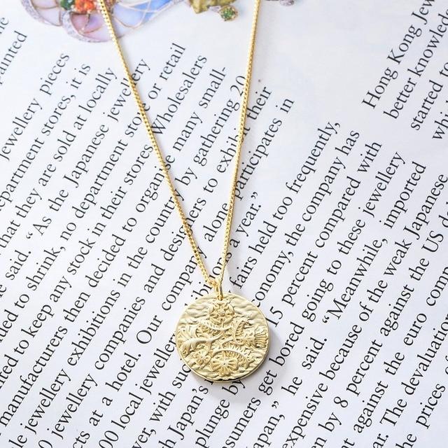 Фото leouerry ожерелье из стерлингового серебра 925 пробы с кулоном