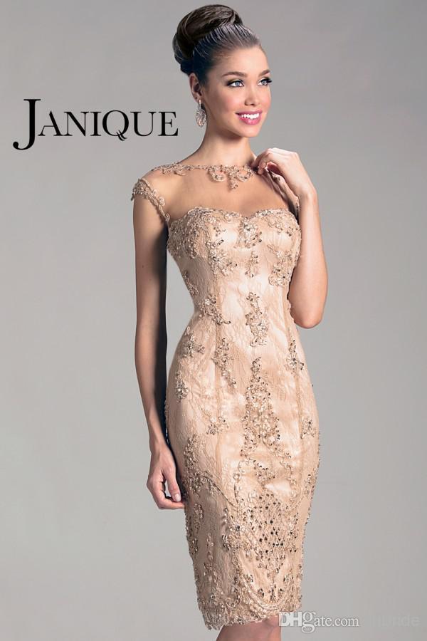 Free Shipping Robe De Soiree 2014 New Fashion Cheap Short Sexy Beaded Vestido De Madrinha Mother Of The Bride Lace Dresses