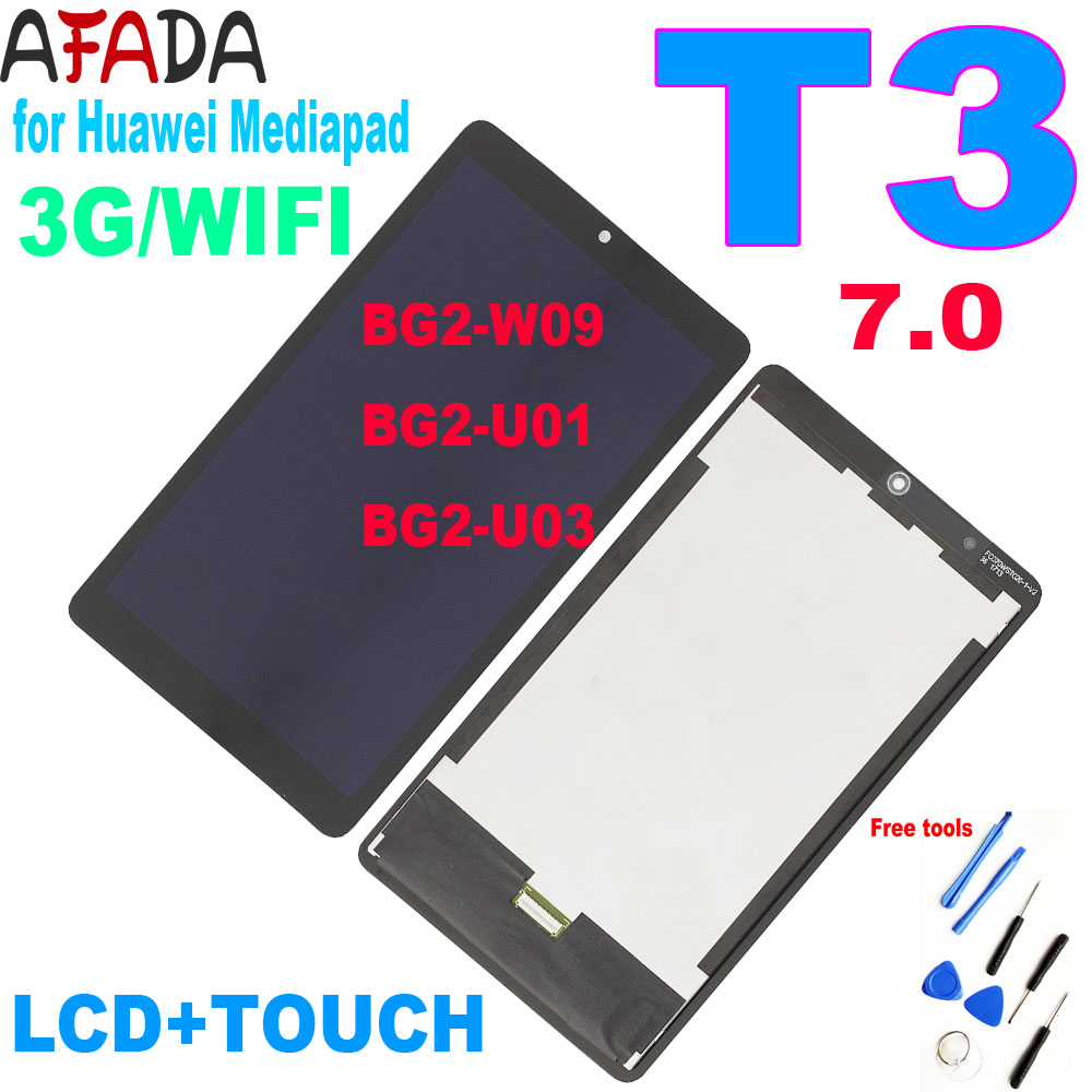 Оригинальный 7-дюймовый ЖК-дисплей для Huawei Mediapad T3 6. 0 3g или Wi-Fi