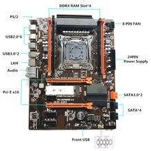 Carte mère X99 2011 V3 ECC SATA 3.0 avec M.2 NVME SSD, USB 3.0, mémoire DDR4, prend en charge 2678 v3cpu
