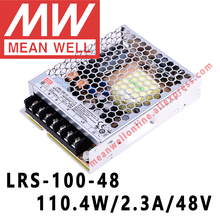 Mean Well LRS 100 48 meanwell 48VDC/2.3A/110W Single Output Switching Power Supply online store