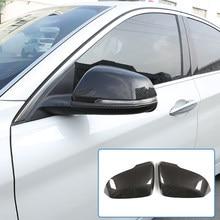 Cubierta embellecedora de espejo retrovisor para BMW, cubierta embellecedora de fibra de carbono ABS para BMW Serie 2 F45 F46 Gran Active Tourer 2013-2019, para BMW X1 F48 2013-2019