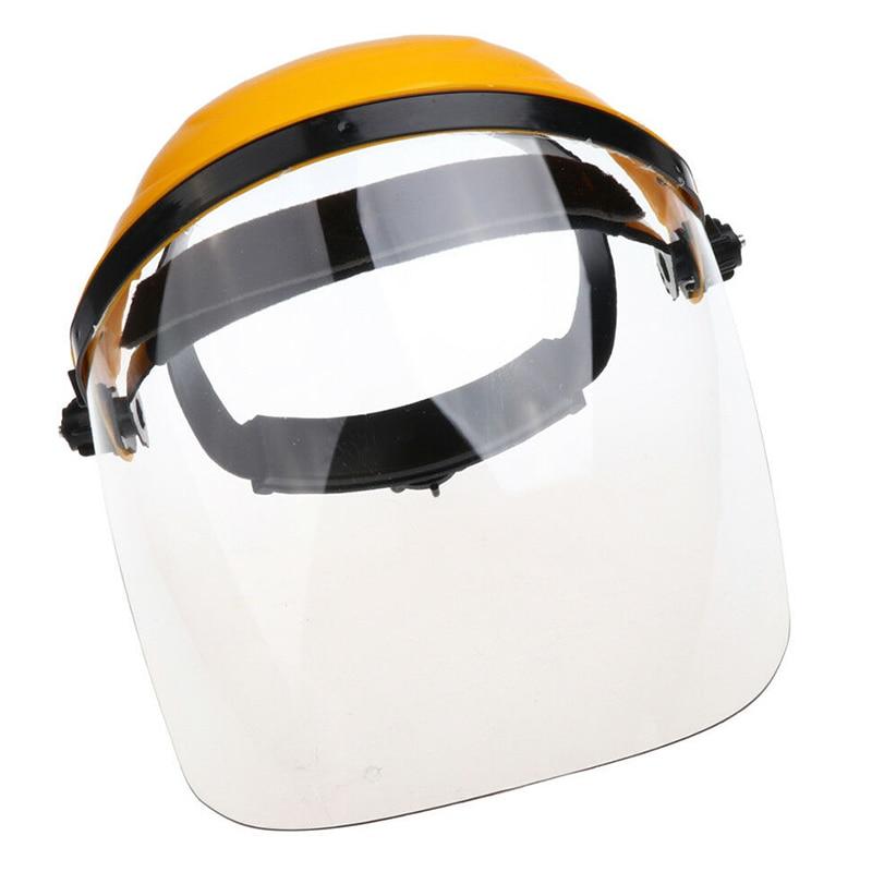 1 Pc Safe Welding Helmets Welder Lens Grinding Shields Visor Radiation Face Covers Clear Polycarbonate Anti-fog Face Shield