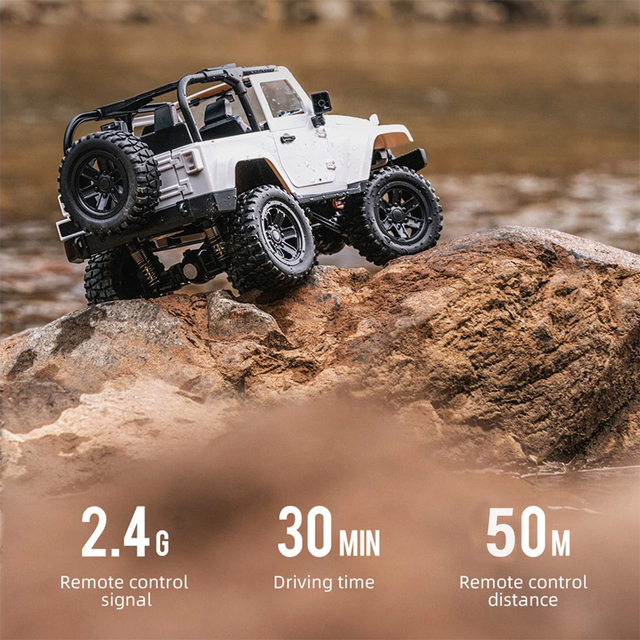 F2 RC Car 1/14 Scale Remote Control Truck Convertible 4WD 2.4GHz Off Road RC Trucks 30km/h High Speed Vehicle Crawler Toys Kid 5