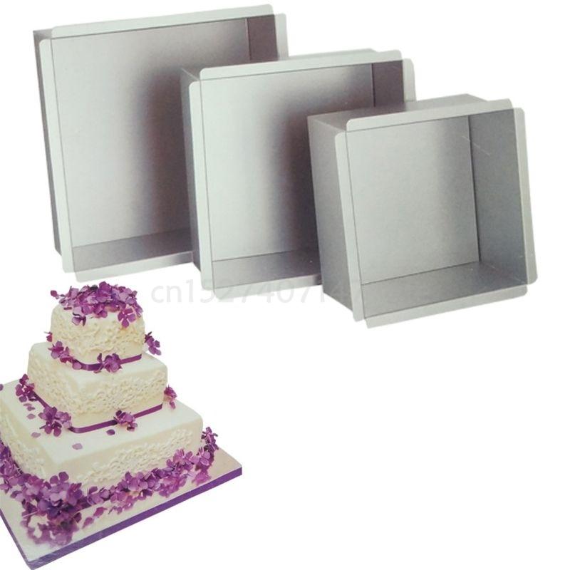 4-10 אינץ DIY כיכר ללא מקל עוגת מחבת עוגת כיכר טוסט לחם עובש בישול מגש אפיית ספקי
