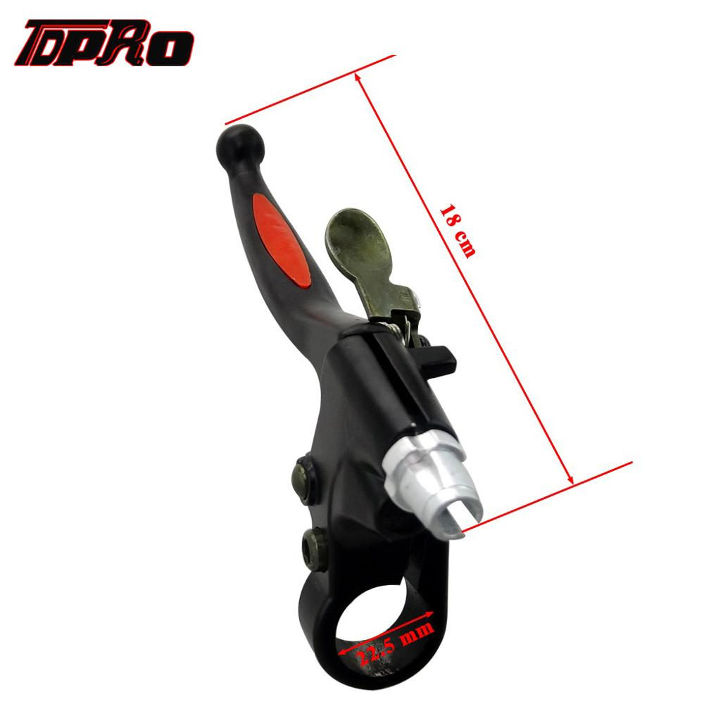 TDPRO Clutch Lever Clutch Cable for 49cc 60cc 66cc 80cc Engine Motorized Bicycle Bike