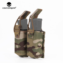 emersongear Emerson Double Mag Pouch FOR SS Vest 556 762 Magazine Plate Pouch Airsoft Hunting Mag Holder Pouch Multicam цены онлайн