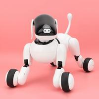 Hot Electronic Toy Intelligent Robot for Kids Intelligent Education Smart Touch Voice Electric Robot Dog with Bluetooth Speakers