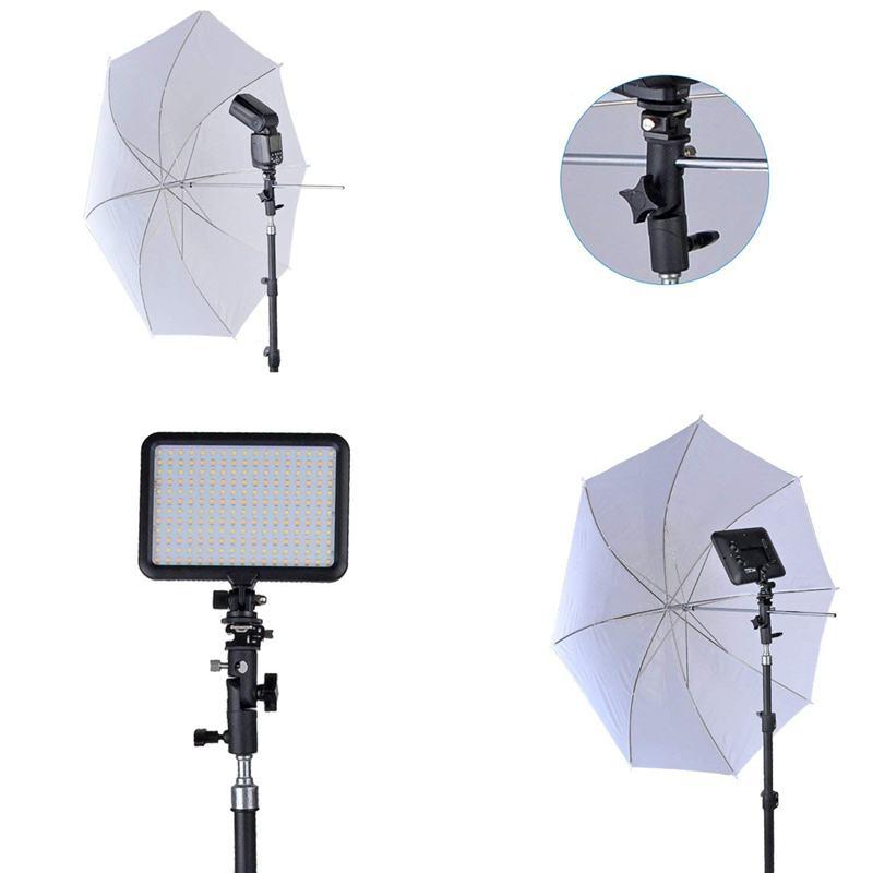 Bliț pentru cameră speedlite mount, suport rotativ profesional - Camera și fotografia - Fotografie 5