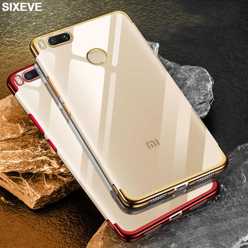 Luxury Silikon Phone Case untuk Xiaomi Redmi 5 Plus 4X 5A 6 Pro 6A S2 Redmi Note 5A 4 5 4X Versi Global Mi 8 Lite 9 Se 6 Cover