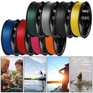 100m Super Strong PE 4 Strands Weave Braided Fishing Line Rope Fish Tackle Tool