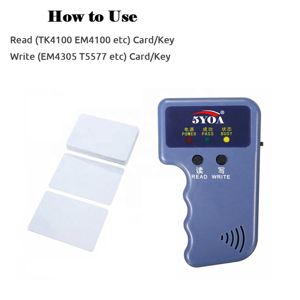Rewritable/Writable Access Control Cards Compatible with all Door Entry System 4