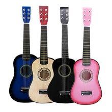 Mini 23 inch Guitar 6 String Classic Exquisite for Baby Toddler Preschool Musical beginner music lovers children