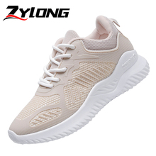 Fashion Sneakers for Women Trainers Platform Beige Sneakers Wedges Women Mesh Shoes Ladies Casual Shoes Black White Pink стоимость