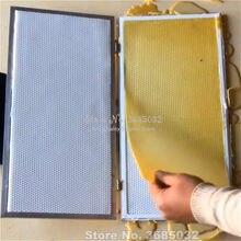 Hand Druk Bijenwas Stichting Vel Making Machine Wax Kam Embosser Molen Machine Voor China/Italiaanse Bee