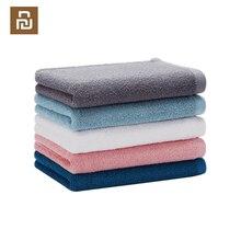 Zanjia 32x70cm serviette 100% coton 5 couleurs forte Absorption deau bain doux et confortable plage visage essuie mains