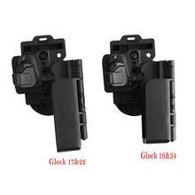 Кобура для пистолета glock 17 22 быстросъемные ремни поясная