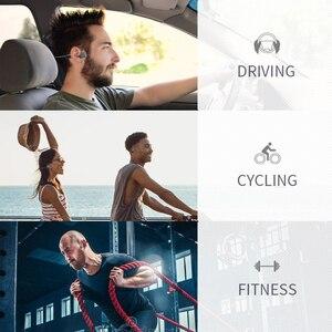 Image 5 - SANLEPUS V10 auriculares de conducción ósea inalámbricos, Auriculares deportivos de oreja abierta, HD, para llamadas, a prueba de agua IPX6, para correr, BT 5,0