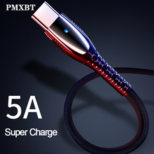 5A USB Type C Cable Fast Charging Data Type-C USB Charger For Huawei P30 P20 Mate 20 Pro Phone Supercharge Quick Charge 3.0 USBC quick charge 3 0 quick charger fast plug usb for charger huawei supercharge charger usb type c adapter for huawei p30 pro