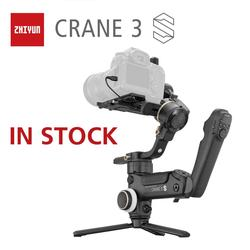 ZHIYUN Official Crane 3S/Crane 3S-E 3-Axis Handheld Gimbal with SUPER motos for Max. 6.5KG DSLR Camera Video Cameras Stabilizer