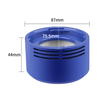 цена на Vacuum Cleaner Accessories Filter Rear Filter HEPA Filter For Dyson V7 V8 Vacuum Cleaner Parts