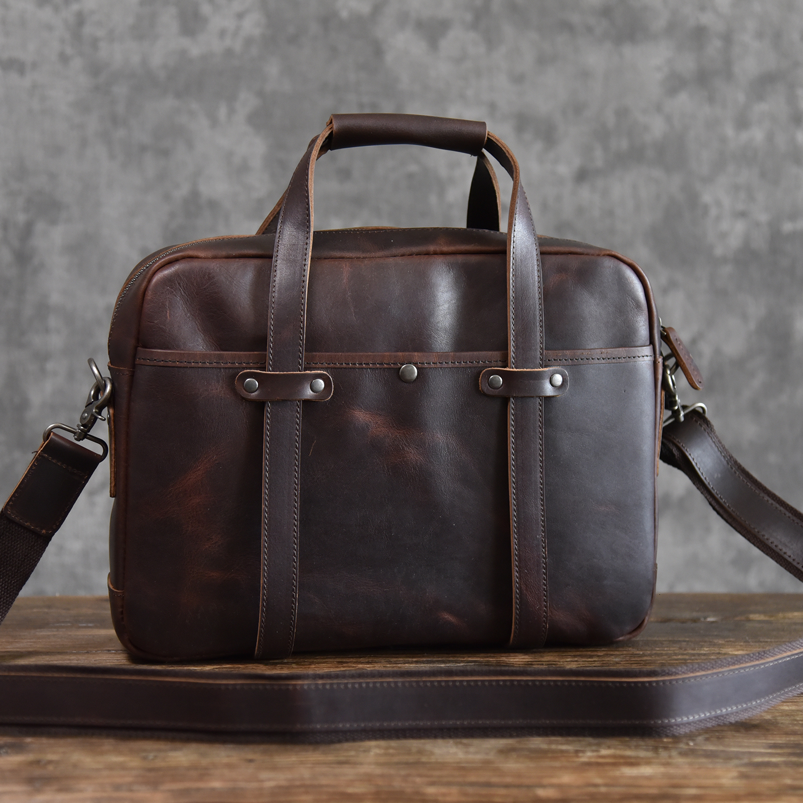 Men's Bag Genuine Leather Crossbody Bags Male Messenger Bag Men Shoulder Bags 14'' Laptop Briefcases Man Totes Handbags