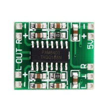 PAM8403 сверхмалый цифровой усилитель мощности доска класса D 2channelsx3W