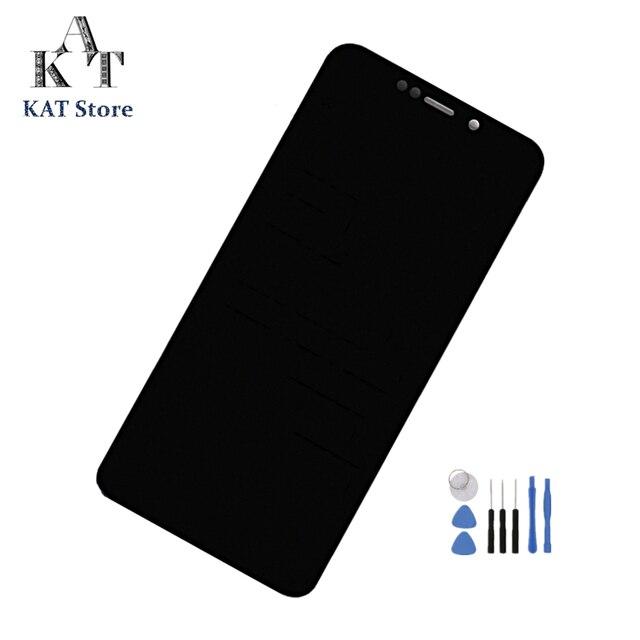 """5.9 """"ekran dotykowy LCD dla Motorola Moto one XT1941 1 XT1941 3 XT1941 4 P30 LCD Digitizer montaż + narzędzia"""